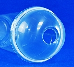 98mm 314SS 626 Disposable Dome Lid with Straw Slot 1000/case